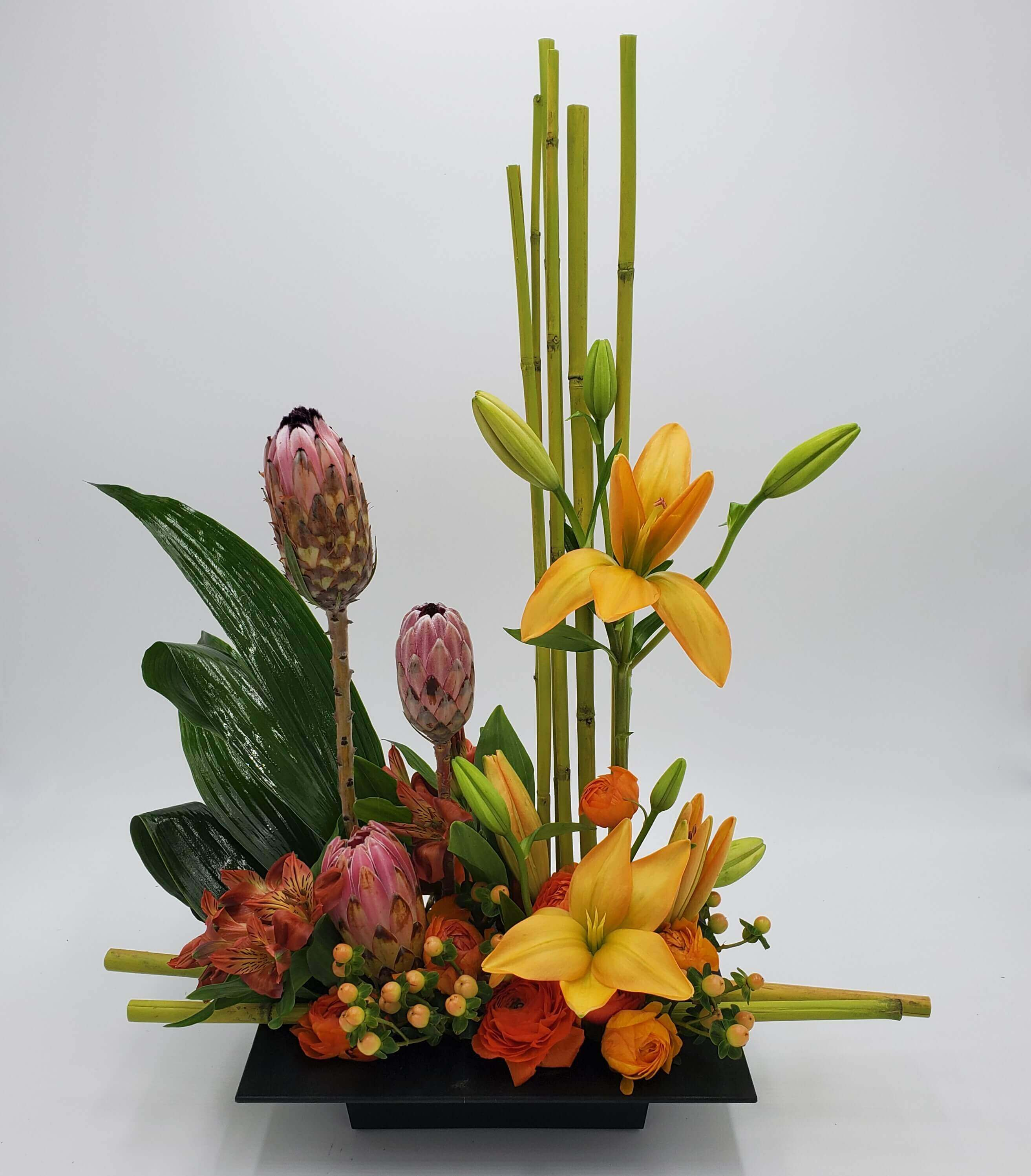 Highstyle tropical floral design