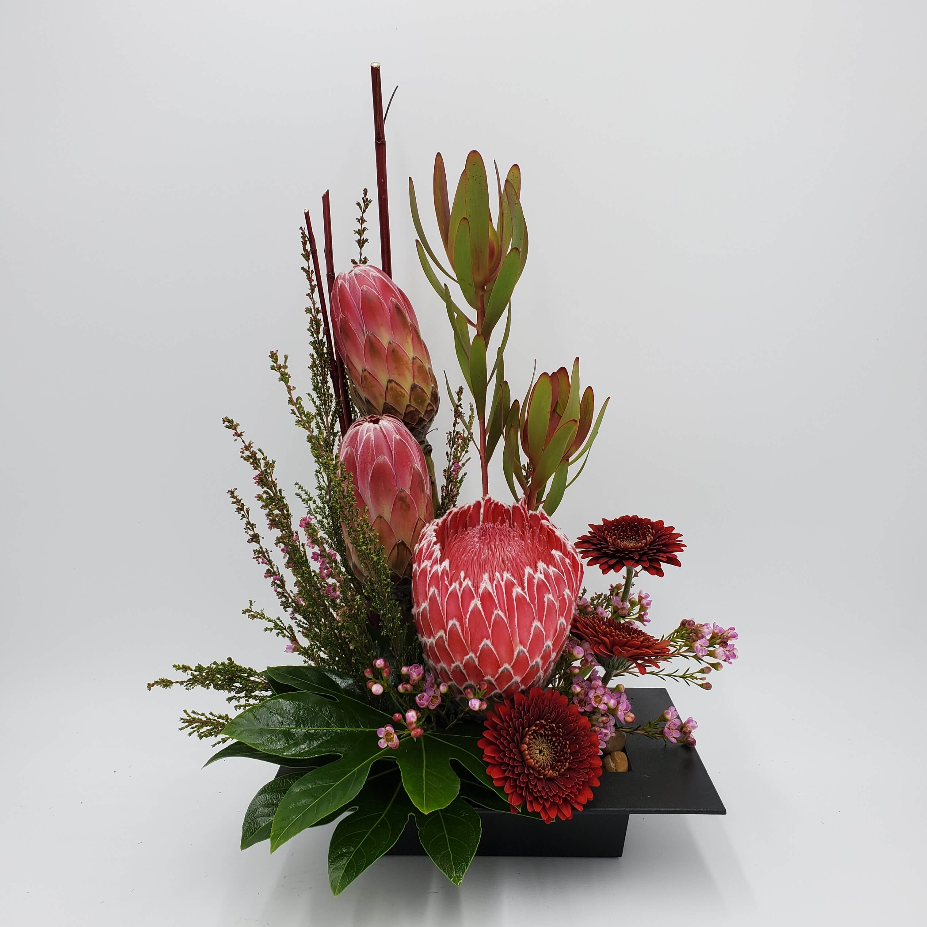 Highstyle floral design with Protea