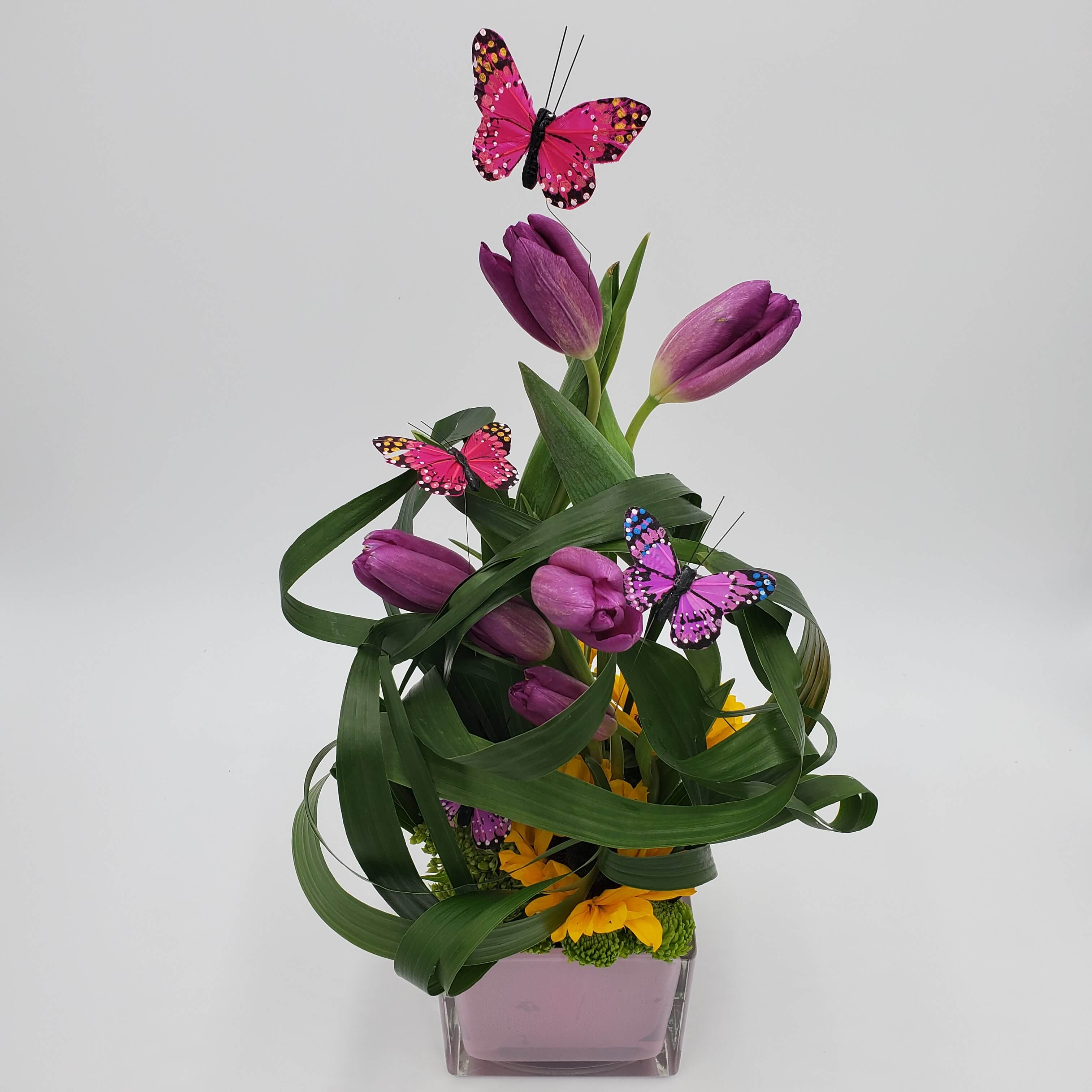 Artistic Spring floral design