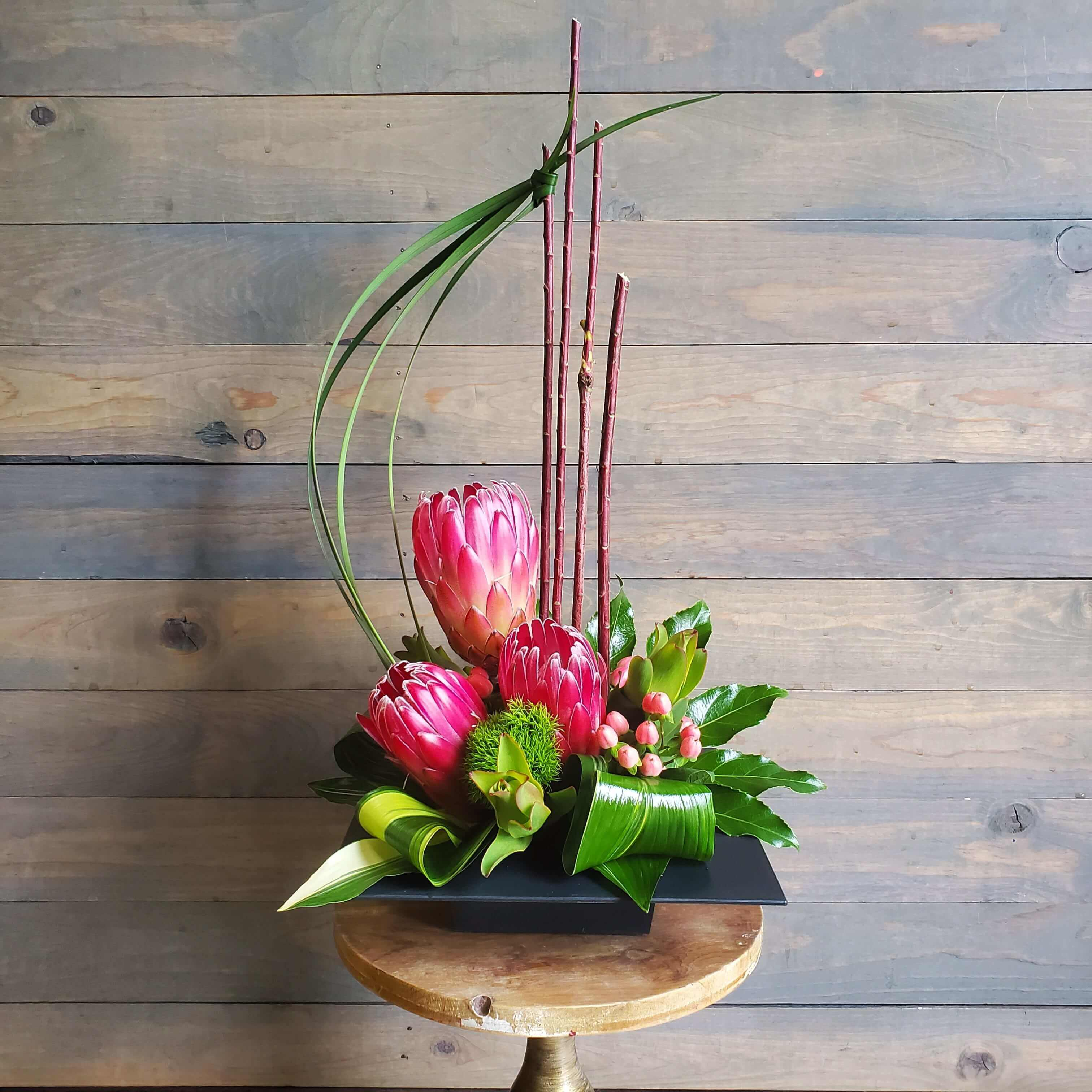 Highstyle protea floral design